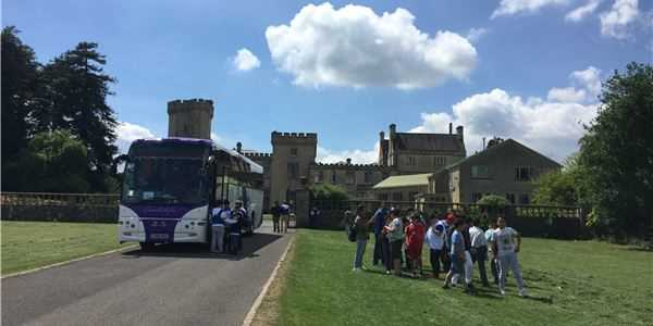 Summer Campers arrive at Ashwicke Hall