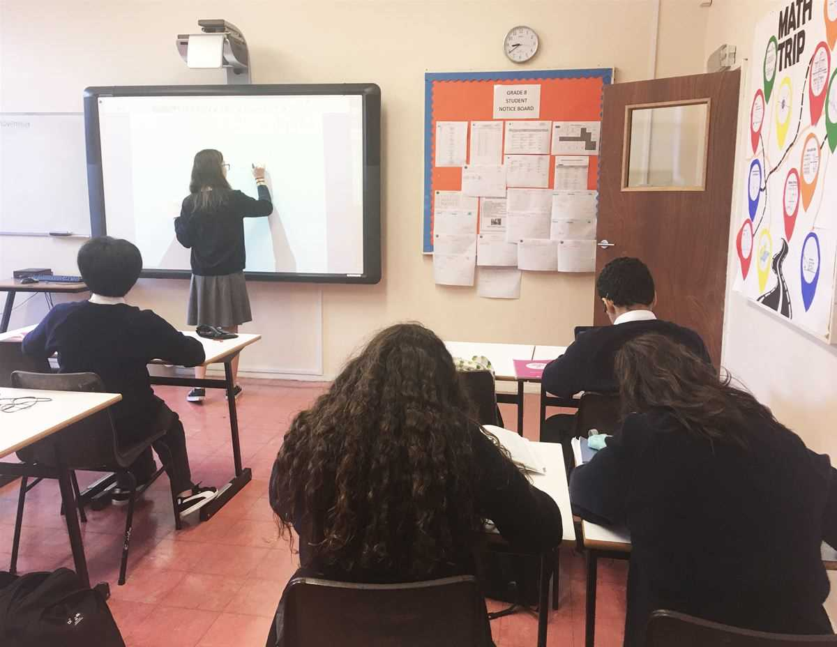 Shadow teaching at Ashwicke Hall School