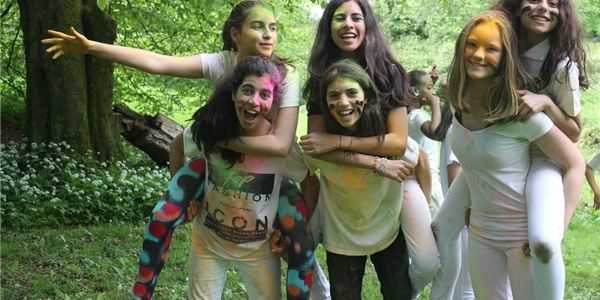 Students organise Charity Color Run