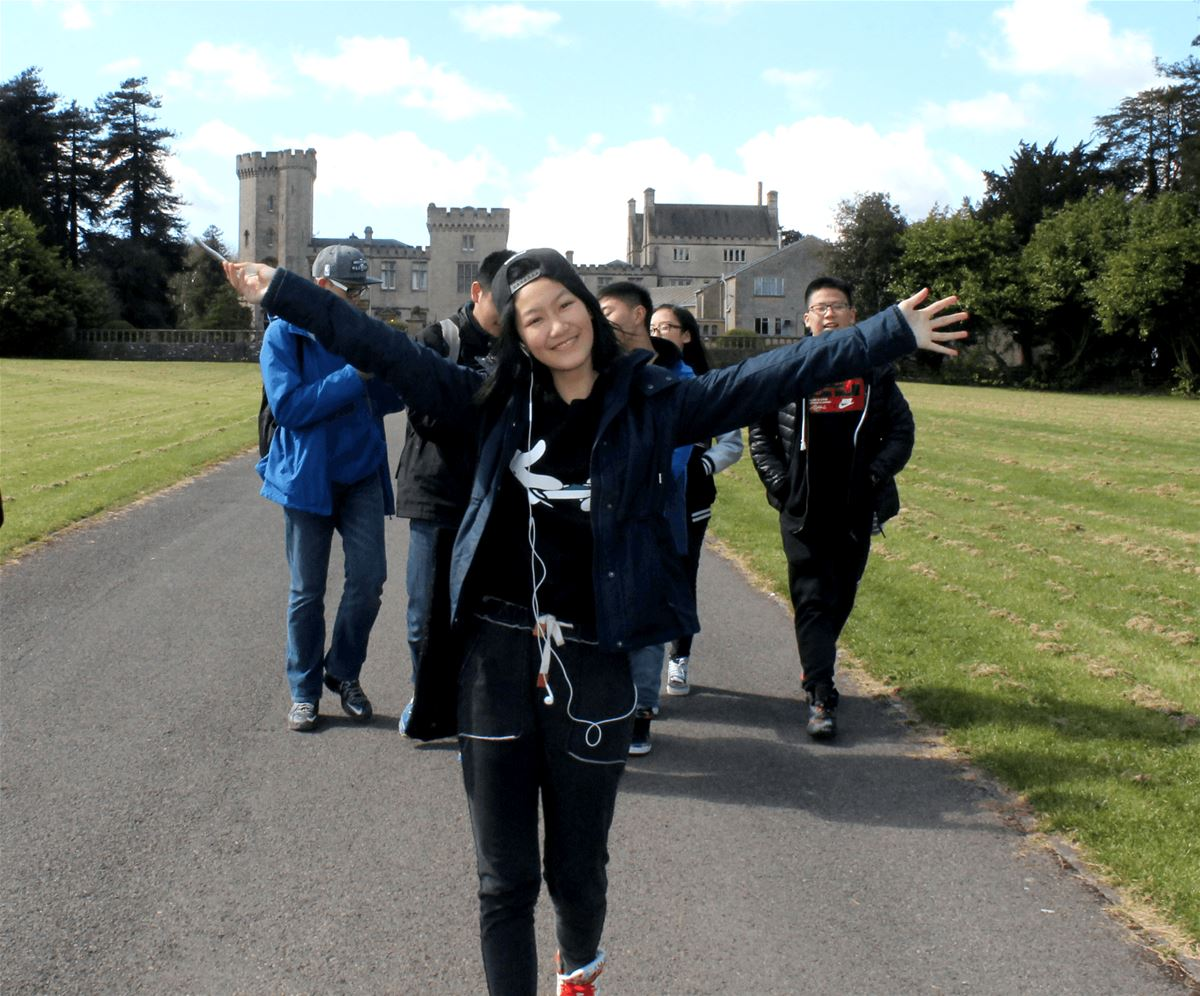 Chinese Students visit the UK